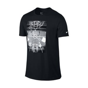 Mode- Lifestyle adulte NIKE T-Shirt Nike Court Plays Noir taille - XL