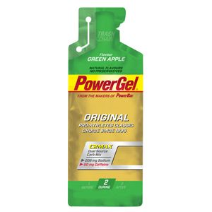 POWERBAR Lot de 24 PowerGel Original PowerBar - Green Apple (Caffeine)