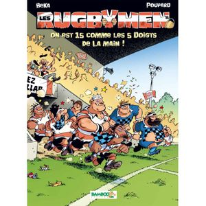Rugby à XV  BAMBOO BD - Les rugbymen - Tome 15 - Bamboo