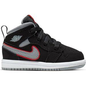 Bébé JORDAN Chaussure de Basket Air Jordan 1 Mid (TD) Noir pour bébé Pointure - 17