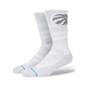 Basketball adulte STANCE Chaussettes NBA Toronto Raptors Stance Arena Snow Gris taille - M