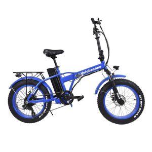 Cycle adulte VELOBECANE Vélo électrique Velobecane Snow bleu