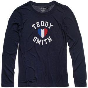 Mode- Lifestyle fille TEDDY SMITH TEDDY SMITH Twelvo Ml Jr T-Shirt Ml Fille