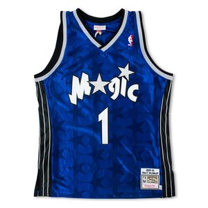 Basket ball homme MITCHELL AND NESS Maillot authentique Orlando Magic Tracy McGrady #1 2000/2001