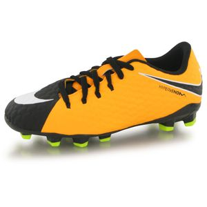 Football enfant NIKE Nike Hypervenom Phelon Iii Fg orange, chaussures de football enfant
