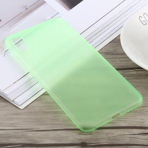 auto-hightech Coque housse pour iphone XS 0.3 mm Ultra-mince Dépoli PP pour l'iPhone XS Max (Vert)