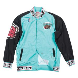 Basket ball homme MITCHELL AND NESS Veste d'échauffement M&N Nba Vancouver Grizzlies
