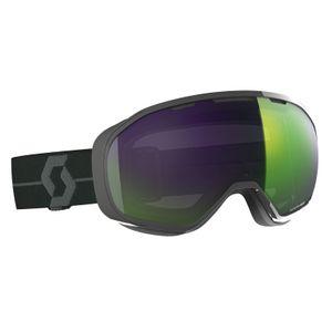 Sports d'hiver  SCOTT Masque De Ski / Snow Scott Fix Dark Grey Enhancer Green Chrome