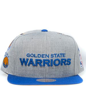 Mode- Lifestyle homme MITCHELL & NESS Golden State Warriors Homme Snapback Basketball Gris Mitchell & Ness