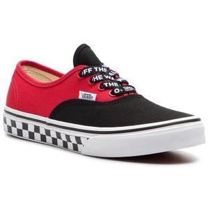 Outdoor enfant VANS vans chaussure authentic enfant rouge-noir vn0a38h3vi71 textile textile 27