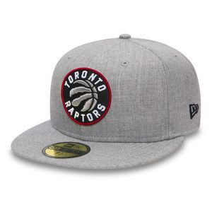 Mode- Lifestyle homme NEW ERA Casquette New Era Heather 59fifty Toronto Raptors