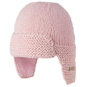 Ski Bébé BART'S BARTS-Bonnet naissance en maille rose tendre bébé fille du 0 au 12 mois Barts