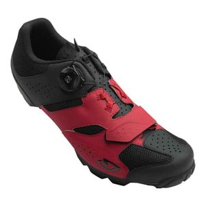 homme GIRO Chaussures Giro Cylinder rouge noir