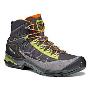 Mode- Lifestyle homme ASOLO Chaussures Asolo Falcon GV GTX gris vert orange
