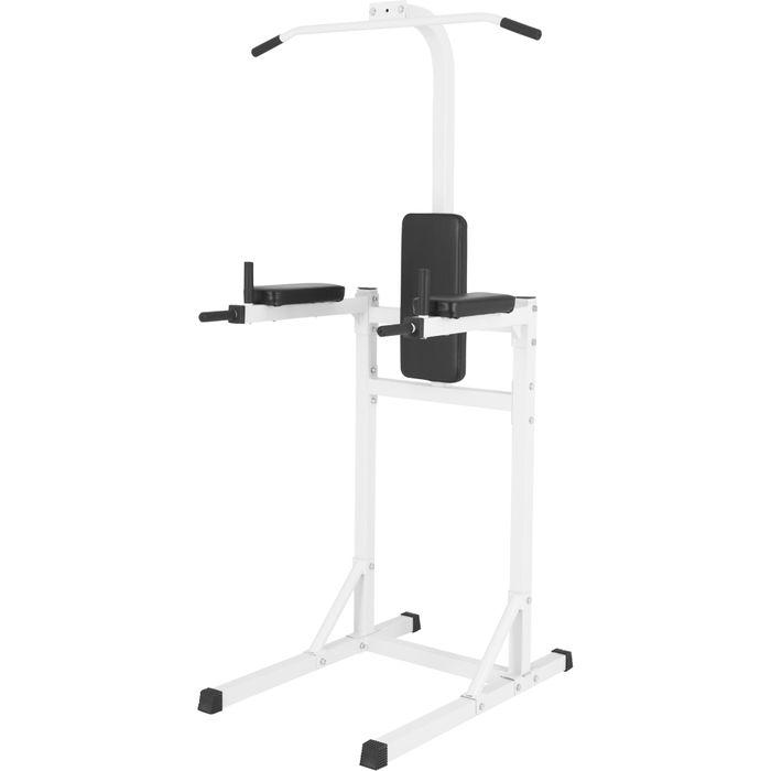 gorilla sports station pour tractions chaise romaine noir ou blanc achat et prix pas cher. Black Bedroom Furniture Sets. Home Design Ideas