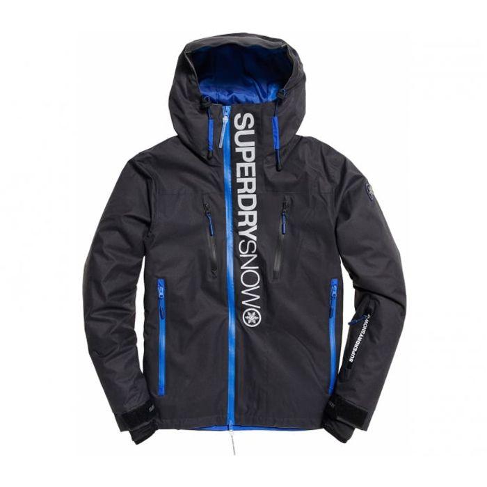 Superdry Multi grisbleu Ski Sd De Hommes Super Manteau rqAPUr