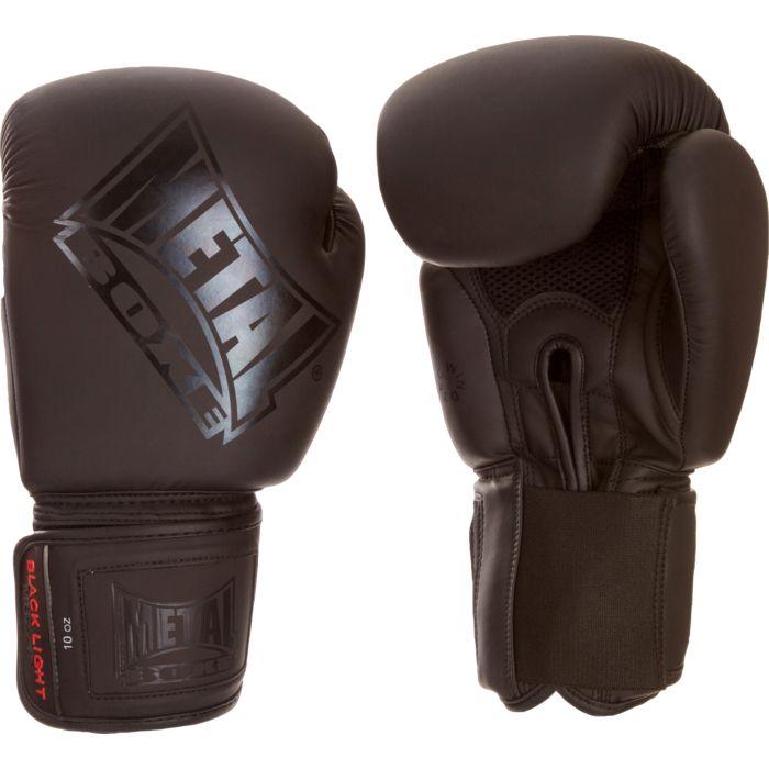 gant boxe noir mat achat et prix pas cher go sport. Black Bedroom Furniture Sets. Home Design Ideas