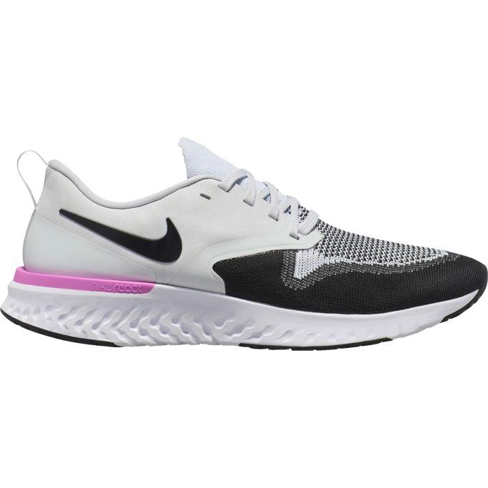chaussures de running homme odyssey react flyknit 2 nike