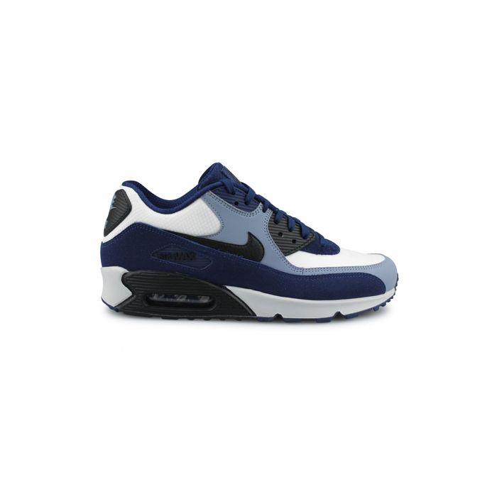 new style e14cc 91c5d Mode- Lifestyle homme NIKE Basket Nike Air Max 90 Leather Bleu 302519-400