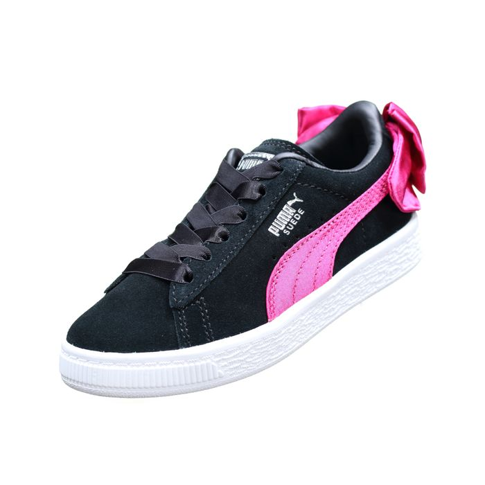 low priced 6445e 35d20 basket-fille-puma-suede-bow-ac-ps-367318---04-noir 1 v1.jpeg