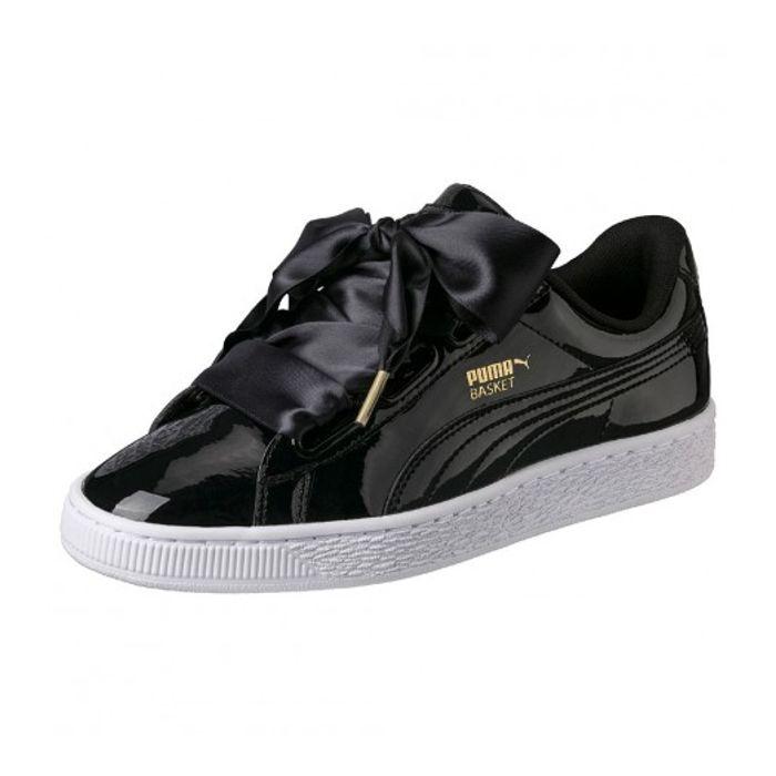 You Basket Achat Classic Do Puma Heart Et Patent Noir Chaussures – dxQWroCBe