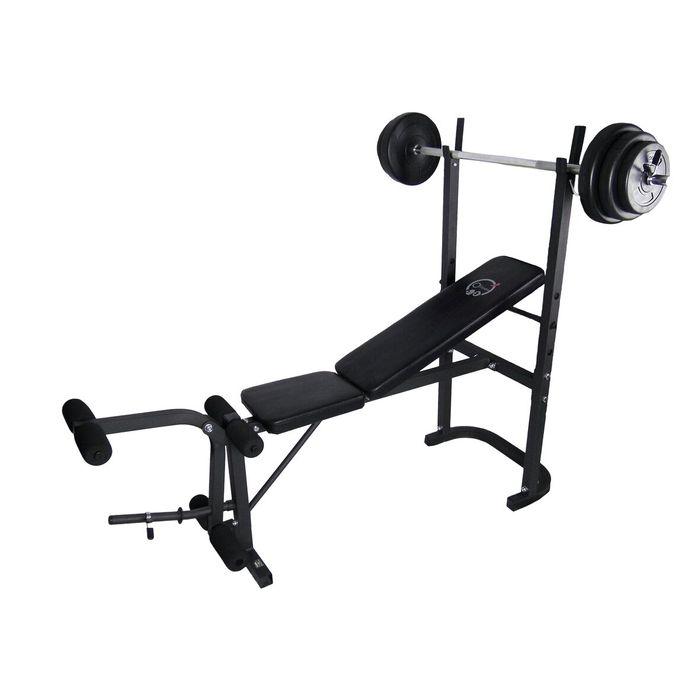 Banc De Musculation Avec Barre Poids 20kg Ofitness Achat Et