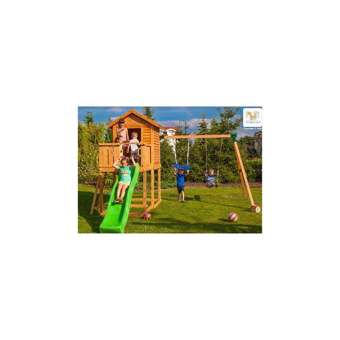 aire de jeux pour enfants en bois s ch lasur aude achat et prix pas cher go sport. Black Bedroom Furniture Sets. Home Design Ideas