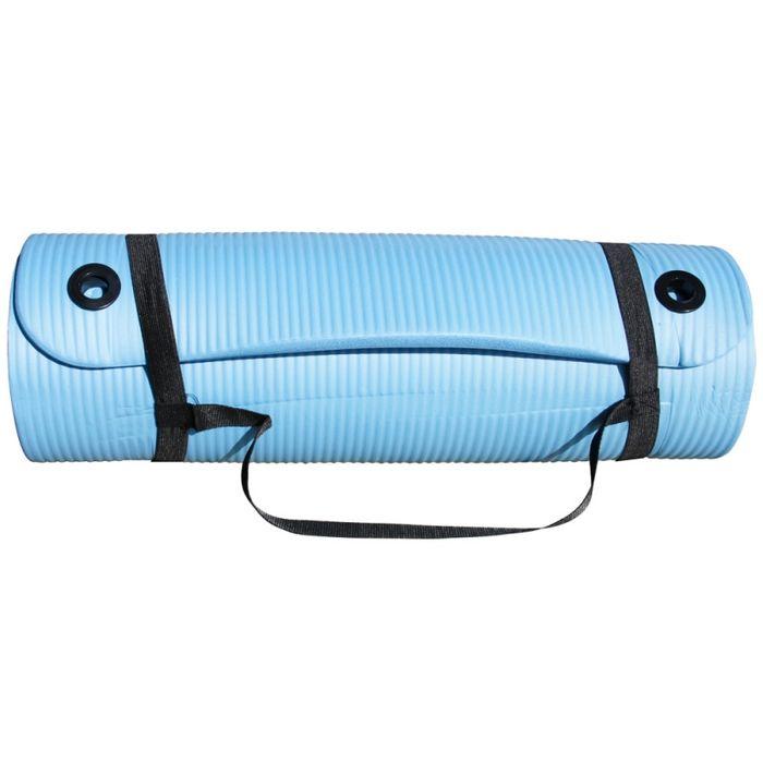 tapis bleu clair 180cm achat et prix pas cher go sport. Black Bedroom Furniture Sets. Home Design Ideas