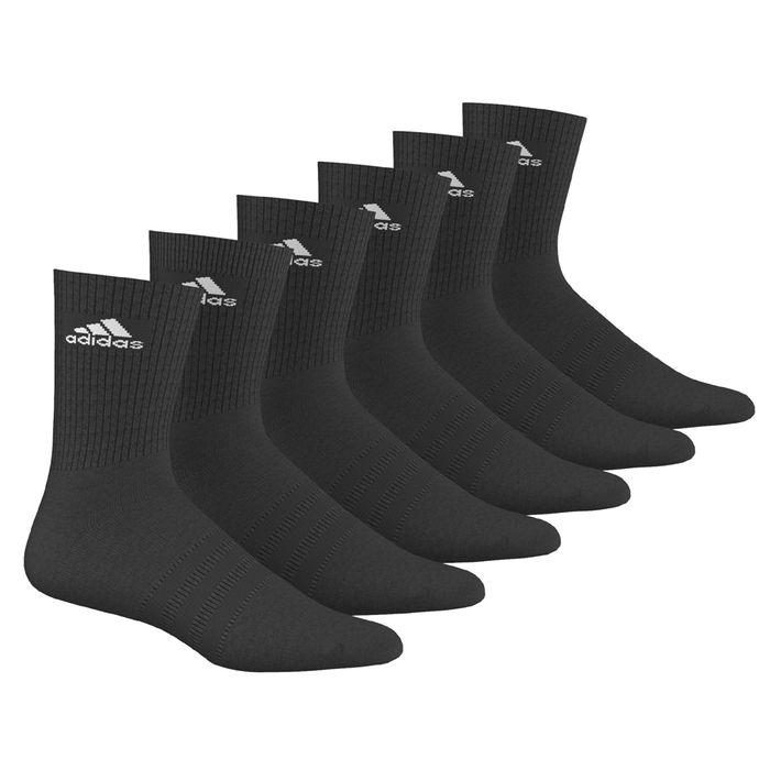 chaussettes adidas performance 3s per 6p achat et prix pas cher go sport. Black Bedroom Furniture Sets. Home Design Ideas
