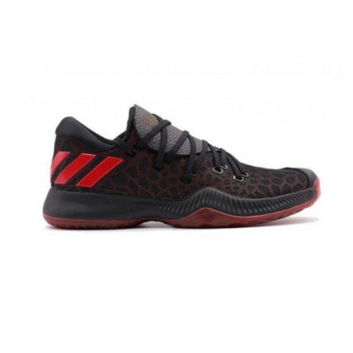 finest selection 4f6d9 5d164 ... low price basket ball homme adidas chaussures de basketball adidas  harden be noir et rouge pour