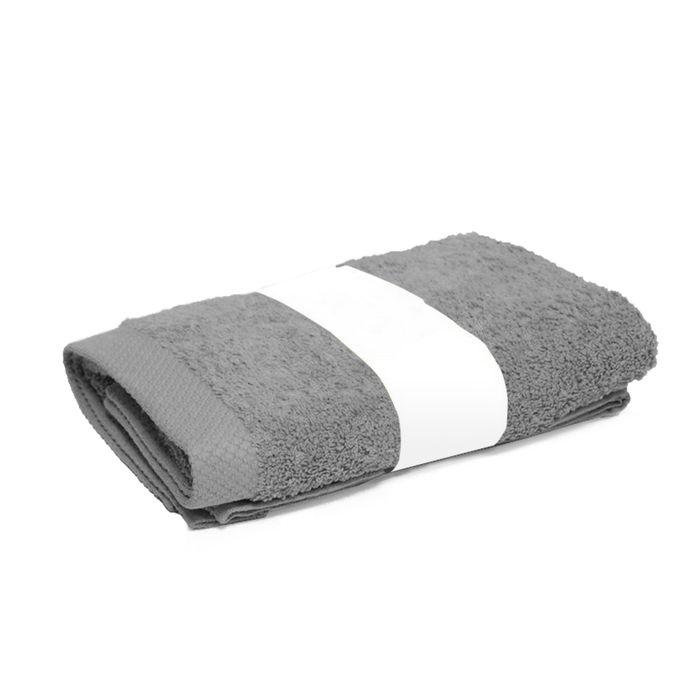 serviette de toilette 50x100 cm pure argent 550 g m2. Black Bedroom Furniture Sets. Home Design Ideas