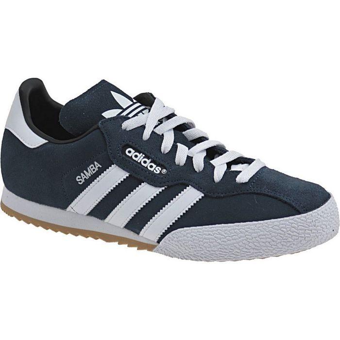 Samba Hommes Chaussures De Fitness Fb, Bleu Adidas