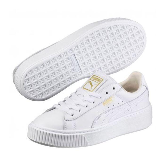 Chaussures Puma Cher Prix Blanc Core Et Achat Basket – Platform Pas cAj4RqL53