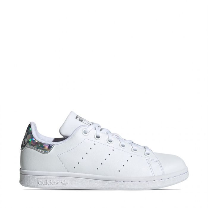 Outdoor adulte ADIDAS ORIGINALS adidas stan smith j blanc-diamant ee8483  cuir cuir/textile 37/13