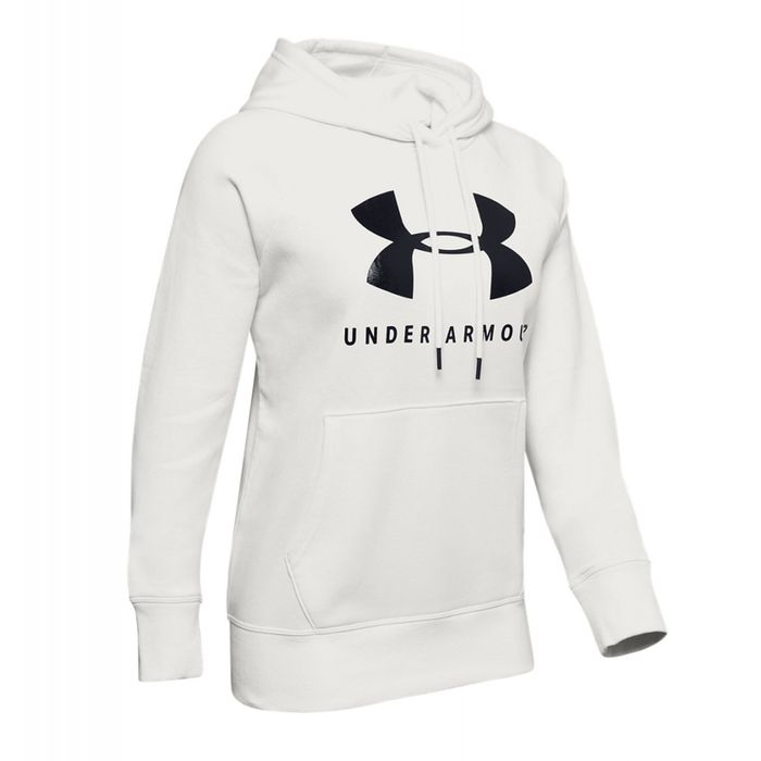 Mode Lifestyle femme UNDER ARMOUR Sweat Under Armour Rival Fleece Sportstyle Graphic 1348550 112