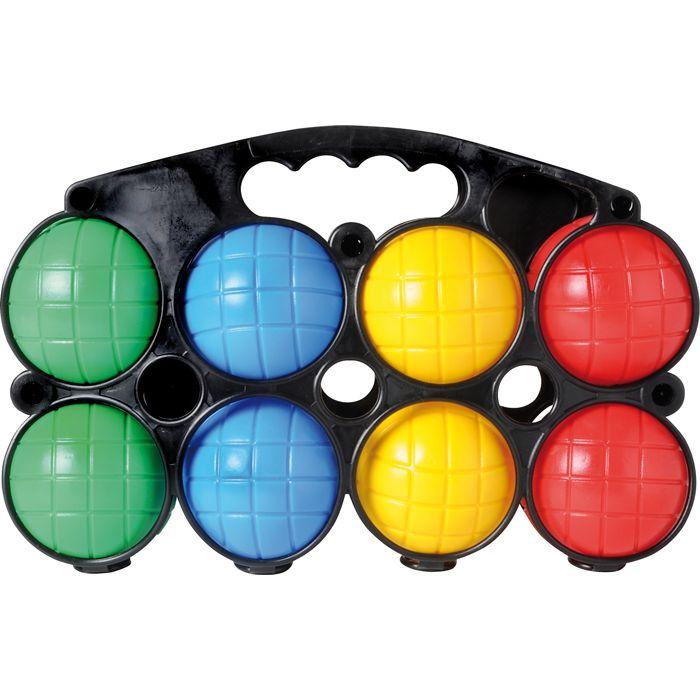 jeu de p tanque 8 boules en plastique achat et prix pas cher go sport. Black Bedroom Furniture Sets. Home Design Ideas