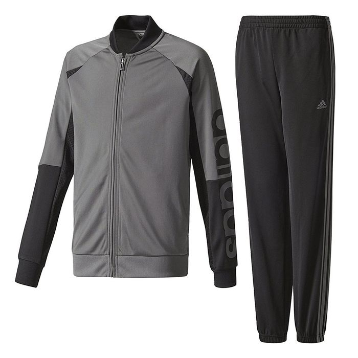 Mode Lifestyle homme ADIDAS Yb Linear Garçon Survêtement Gris Adidas