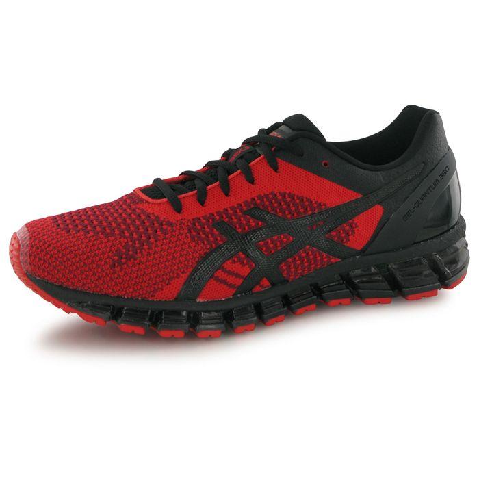 asics gel quantum 360 knit rouge chaussures de running homme achat et prix pas cher go sport. Black Bedroom Furniture Sets. Home Design Ideas