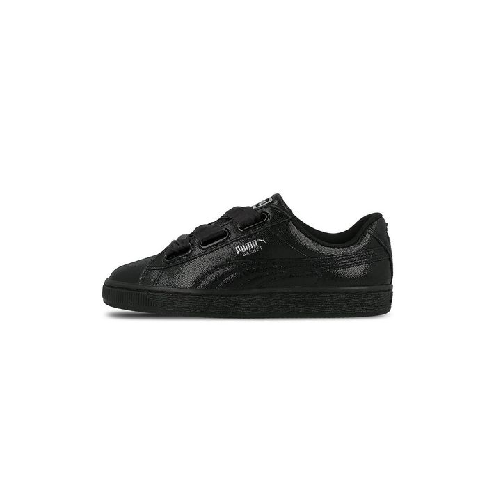 puma basket heart leather wn s femme