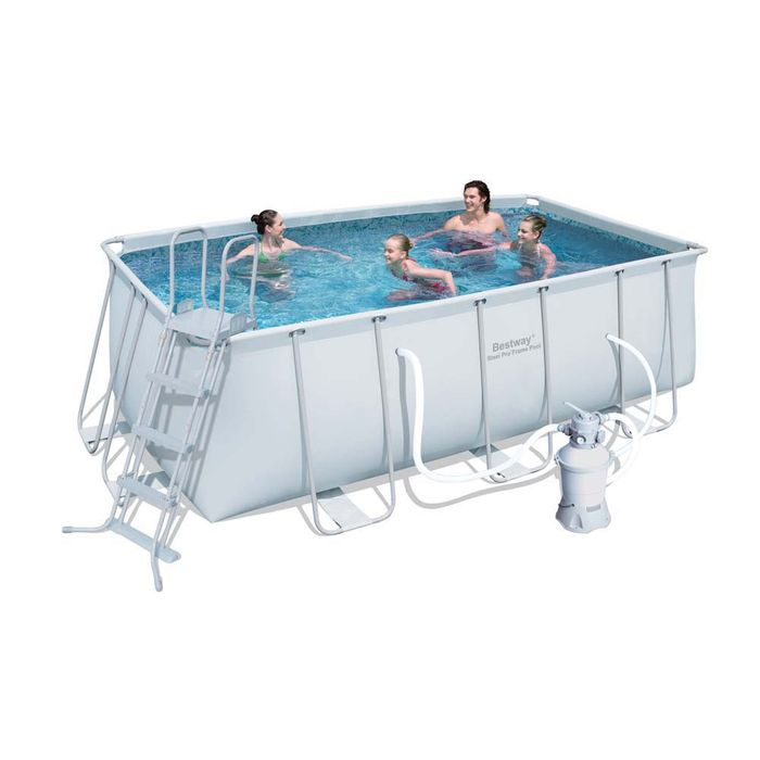 Piscine tubulaire pro x x m filtre sable for Piscine tubulaire 1 22