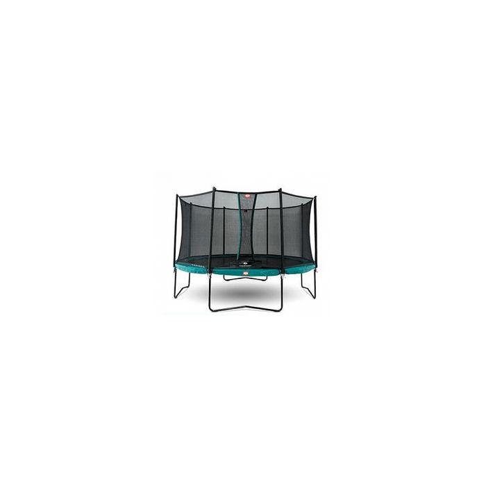 Trampoline BERG Champion Green 380 + Safety Net Comfort