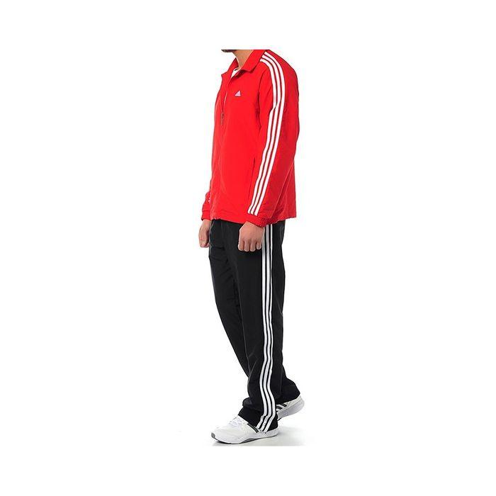 survêtement adidas rouge homme