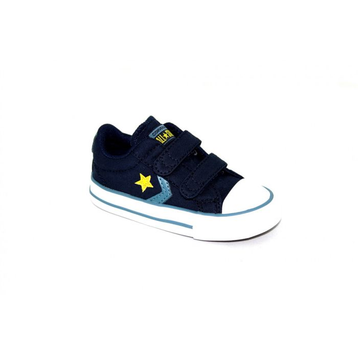 Outdoor enfant CONVERSE Converse Starplayer a scratch bleu 763528c syntetictextile textile 20