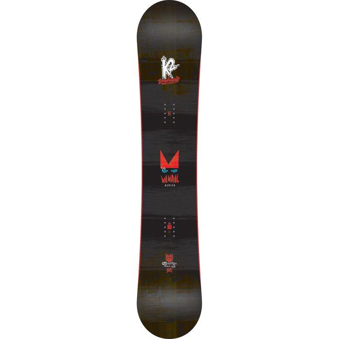 planche de snowboard vandal noir k2 achat et prix pas. Black Bedroom Furniture Sets. Home Design Ideas