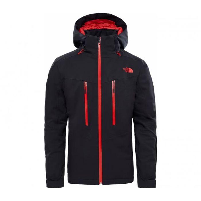 57bf733dbd7f6 Sports d hiver homme THE NORTH FACE The North Face - Chakal Hommes Manteau  de ski (noir rouge)