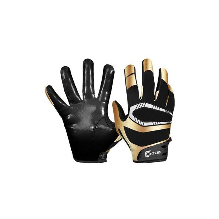 gant de football am ricain cutters s450 rev pro sp cial edition noir or taille xl achat et. Black Bedroom Furniture Sets. Home Design Ideas