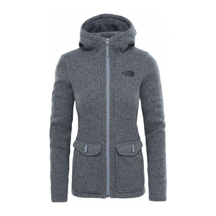 Outdoor femme THE NORTH FACE The North Face - Crescent veste polaire pour  femmes (gris) 4f7f35592b12