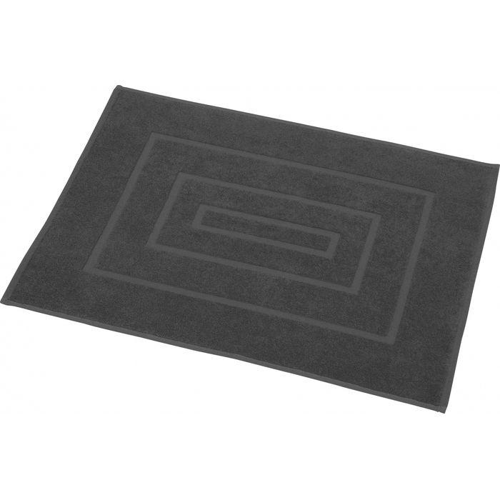 Tapis de bain ponge k127 gris fonc 70 x 50 cm for Tapis gris fonce pas cher