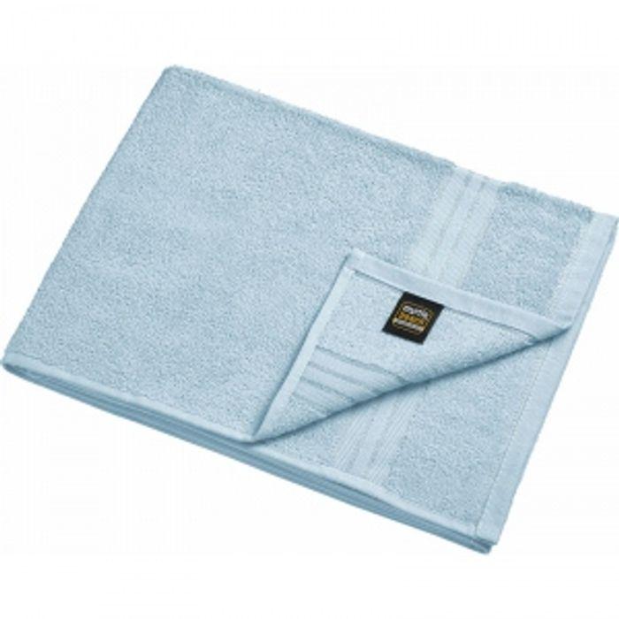serviette de toilette ponge mb421 bleu clair. Black Bedroom Furniture Sets. Home Design Ideas