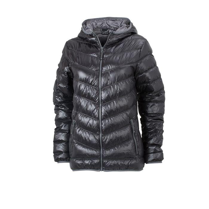 veste duvet capuche doudoune anorak femme jn1059 noir achat et prix pas cher go sport. Black Bedroom Furniture Sets. Home Design Ideas